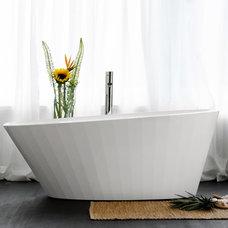 Modern Bathtubs by WETSTYLE