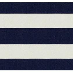 Lighthouse Stripe in White/Navy - Love the classic fabric Lighthouse Stripe in White/Navy by Ralph Lauren!