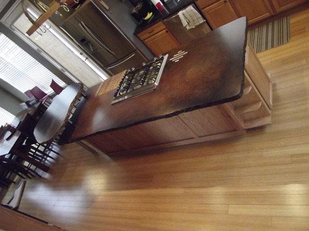 Eclectic Kitchen Countertops by Coates Custom Design