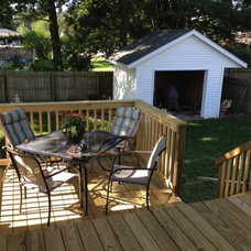 Traditional Patio by Lowe's of Grandville/Exteriors
