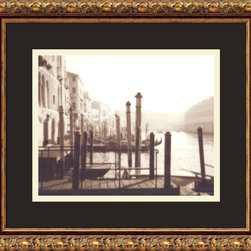 Amanti Art - Venice Framed Print by David Westby - Sepia-toned photography lends uncommon warmth to your decor. This gallery quality print by David Westby brings the romance and beauty of Venice to your home and makes a fine addition to your art collection.