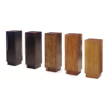Wright Table Company - The No. 20 Pedestal - These pedestals are intended to display works of art, or flowers or an old baseball glove. The simplicity of the pedestal should not detract from the object of your attention.