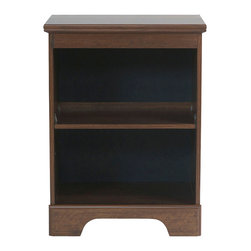Standard Furniture - Standard Furniture Parker Bookcase Nightstand in Brown Cherry - Parker Bedroom offers the perfect solution for rooms that have a smaller footprint, yet still need lots of storage.