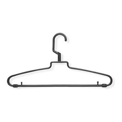 72-Pack Hotel Style, Brown - Honey Can Do HNG-01359 Hotel Style Hanger with Pegs 72-pack, Brown. These durable plastic hangers feature a 360 degree swivel hook the fits easily over any standard sized hanging rod. The standard sized hanger features lingerie pegs for keeping items with spaghetti straps hanging nicely in place. This economical and convenient 72-pack of hangers is great for business or home use.