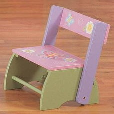 Eclectic Ladders And Step Stools by kidsdecor.net