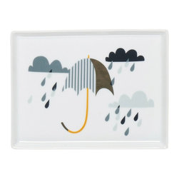 Danica Studio - Umbrella Tray - If there's any place in your home where you're going to get a little wet, it's the bathroom. So why not adorn it with the appropriate theme? This umbrella tray sets the mood and can be used any way you see fit. And who's to say it needs to be a bathroom tray only? It goes where you want it.