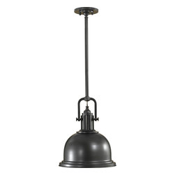 Murray Feiss - Murray Feiss P1147DBZ Dark Bronze Parker Place 1 Light Pendant - Lamping Technology: Bulb Base - Medium (E26): The E26 (Edison 26mm), Medium Edison Screw, is the standard bulb used in 120-Volt applications in North America. E26 is the most common bulb type and is generally interchangeable with E27 bulbs. Compatible Bulb Types: Nearly all bulb types can be found for the E26 Medium Base, options include Incandescent, Fluorescent, LED, Halogen, and Xenon / Krypton.