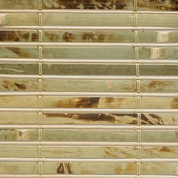 Blinds.com Budget Woven Wood Shades in Antigua Natural - If you want an inexpensive woven wood shade, our Budget Woven Wood Shades are your perfect choice. You'll just pay less and get remarkable savings.