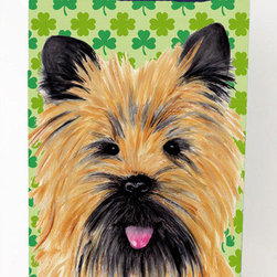 Caroline's Treasures - Cairn Terrier Shamrock Portrait Michelob Ultra Koozies for slim cans - Cairn Terrier St. Patrick's Day Shamrock Portrait Michelob Ultra Koozies for slim cans SC9295MUK Fits 12 oz. slim cans for Michelob Ultra, Starbucks Refreshers, Heineken Light, Bud Lite Lime 12 oz., Dry Soda, Coors, Resin, Vitaminwater Energy, and Perrier Cans. Great collapsible koozie. Great to keep track of your beverage and add a bit of flair to a gathering. These are in full color artwork and washable in the washing machine. Design will not come off.
