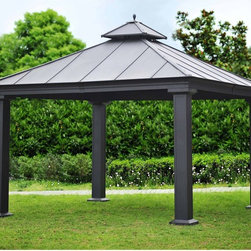 Royal Hardtop Gazebo - Speaking of canopies, this hard-top gazebo is at the very tip-top of my wish list. It's definitely a splurge, but not having to replace a fabric canopy cover every two years (as I've had to do twice already) makes the price point worth every last penny!