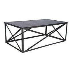 NOIR - NOIR Furniture - Brussels Coffee Table - GTAB154MT - Features: