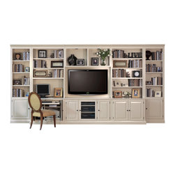 Home Entertainment & Office - Combine home office and home entertainment pieces for a truly functional space.