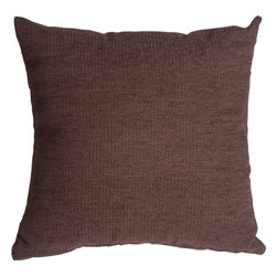 Pillow Decor Ltd. - Pillow Decor - Arizona Chenille 20 x 20 Purple Throw Pillow - Elegant and durable, this chenille throw pillow is a fantastic addition to any home. This is a versatile pillow that can be used in both formal and casual settings.