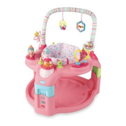 Bright Starts - Bright Starts Pretty in Pink Entertainer - Entertainer features the innovative Ideal Fit Seat with three adjustable height settings to fit baby through the growth stages.