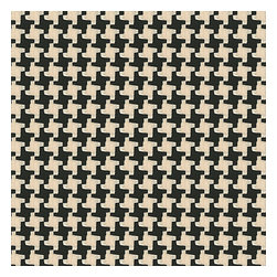 Black & White Knit Houndstooth Fabric - Chunky knit black & white houndstooth. Perfect for adding cozy texture to any aesthetic from modern to traditional.Recover your chair. Upholster a wall. Create a framed piece of art. Sew your own home accent. Whatever your decorating project, Loom's gorgeous, designer fabrics by the yard are up to the challenge!