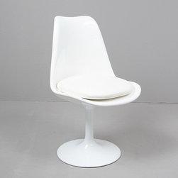 Modern Classics - Saarinen: Tulip Armless Chair Reproduction - Features: