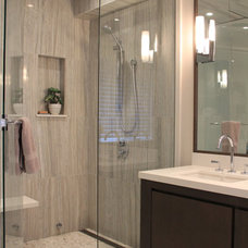 Contemporary Bathroom by Little Redstone Inc.