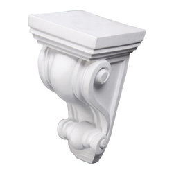 uDecor - CB-1068 Corbel - These corbels are for decorative use only. These should not be used for any structural support.