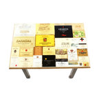 My Méz - Wine Label Table/Wall Art - It's a table; It's wall art. It's BOTH, and It's Made In the USA!