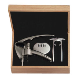 Franmara - Stainless Steel Swift Bottle Opener Deluxe Set in Natural Wooden Box - This gorgeous Stainless Steel Swift Bottle Opener Deluxe Set in Natural Wooden Box has the finest details and highest quality you will find anywhere! Stainless Steel Swift Bottle Opener Deluxe Set in Natural Wooden Box is truly remarkable.