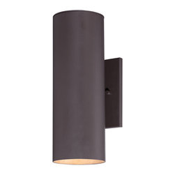 The Great Outdoors - The Great Outdoors 72502-615B-PL 2 Light Wall Mount - The Great Outdoors 72502-615B-PL 2 Light Wall Mount