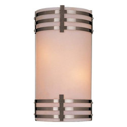 "Minka Lavery - Minka Lavery ML 344-PL 2 Light 7"" Width ADA Wall Sconce with Fluorescent Lamping - Two Light 7"" Width ADA Wall Sconce with Fluorescent LampingFeatures:"
