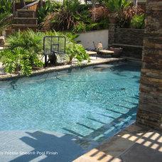 Traditional Hot Tub And Pool Supplies by Aqua Gunite Inc