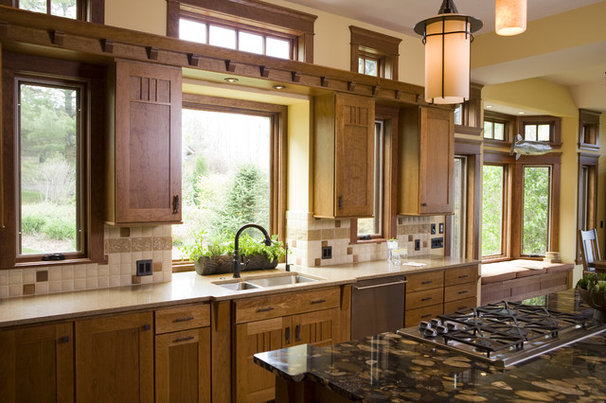 Craftsman Kitchen by Shane D. Inman