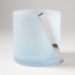 Opaline Blue Ice Bucket - Opaline Blue Ice Bucket