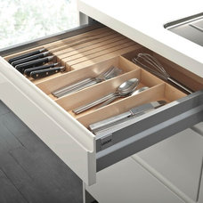 Contemporary Cabinet And Drawer Organizers by Belle Design Build