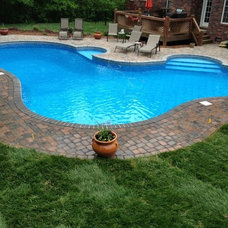Traditional Pool by Innovative Pool Designs