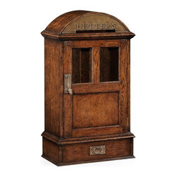 Jonathan Charles - New Jonathan Charles Letter Box Dark Brown - Product Details