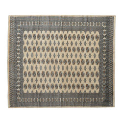1800 Get A Rug - Bokara Elephant Feet Design 100% Wool Hand Knotted Oriental Rug Sh15225 - Our Tribal & Geometric Collection consists of classic rugs woven with geometric patterns based on traditional tribal motifs. You will find Kazak rugs and flat-woven Kilims with centuries-old classic Turkish, Persian, Caucasian and Armenian patterns. The collection also includes the antique, finely-woven Serapi Heriz, the Mamluk Afghan, and the traditional village Persian rug.