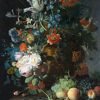 Still Life with Flowers and Fruit | Huysum | Canvas Print - Condition: Canvas Print - Unframed