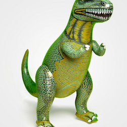 Inflatable 3 Ft T-Rex - What little boy wouldn't want a three-foot-tall, inflatable Tyrannosaurus Rex?
