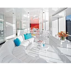 """Cristal White Porcelain Tile Floor - Very Elegant, Beautiful and modern Pure White Glass Cristal with Porcelain Tile, available in 12"""" x 24"""" , 24"""" x 24"""" x 32"""" x 32"""""""