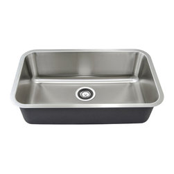GOLDEN VANTAGE - GV 30-Inch Stainless Steel Kitchen Sink Undermount Single Bowl W/Strainer - Our affordable stainless steel kitchen sink offer the most improved quality that make us a good choice for any environment. With durability, bigger bowl capacity and also easy to take care of, because the metal imparts a rich glow and adds corrosion resistance it will never get rusted, we use T-304 stainless steel and heavy duty sound deadening pads on all of our GV sinks.