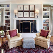 Traditional Living Room by Gail Barley Interiors, LLC