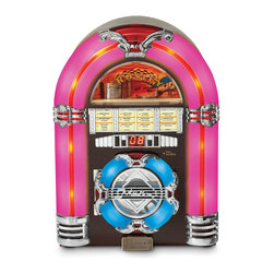 Crosley - Jukebox CD - Dimensions:  18 x 13 x 10 inches
