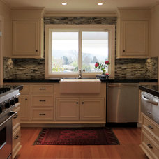 Traditional Kitchen by PLC Interiors