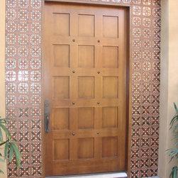 Palm Desert Entry - Mission Tile West