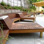 Patio furniture - Custom design, hand built