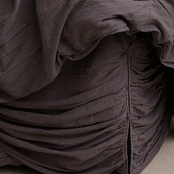 """Anthropologie - Georgina Bedskirt - CottonDry clean 15"""" dropTwin: 39"""" x 76""""Queen: 60"""" x 80""""King: 78"""" x 80""""Imported"""