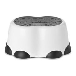 Bumbo - Bumbo Step Stool in Black - This adorable step stool resembles an elephant's foot and is designed to help toddlers take their first steps toward independence. The slip-resistant surface provides stability while your little one reaches for the sink or toilet.