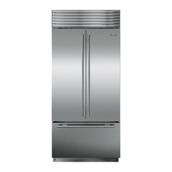 "36"" built-in French door refrigerator - The first French door that put freshness first. Innovative design. Superior performance. With its advanced freshness technology and secure door seal, this is the one French door refrigerator that is every inch a Sub-Zero."