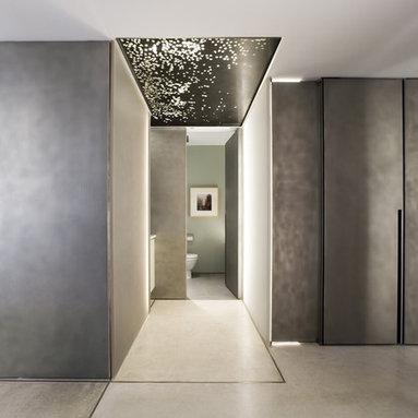 Concrete floor - photos by Peter Aaron