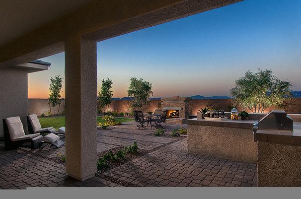 Traditional Patio by Maracay Homes Design Studio