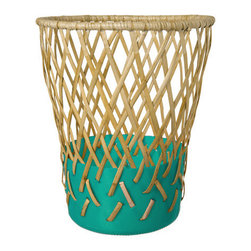 Bow Bin, Green - Just because it's fall doesn't mean that pops of colors shouldn't be around. This wastebasket was made in the Philippines, and if you are interested in empowering communities while adding unique items to your home, make sure you check out the entire line. It's stunning!