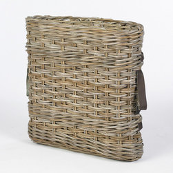 Umbrella Basket - I spotted a vintage French basket like this months ago in an antique store and never picked it up, then I found this gorgeous reproduction — perfect for storing umbrellas near an entryway or mudroom.