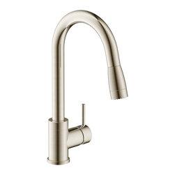 Estora - Estora Vanteno Pull-Down Kitchen Faucet, Brushed Nickel - Estora Single Handle Pull Down Kitchen Faucet from the Vanteno Collection